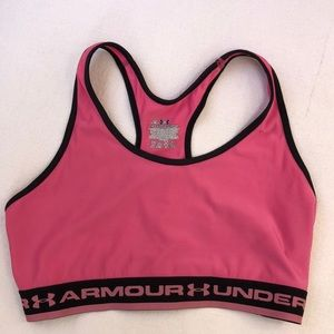Under Armour Pink Sports Bra - LG